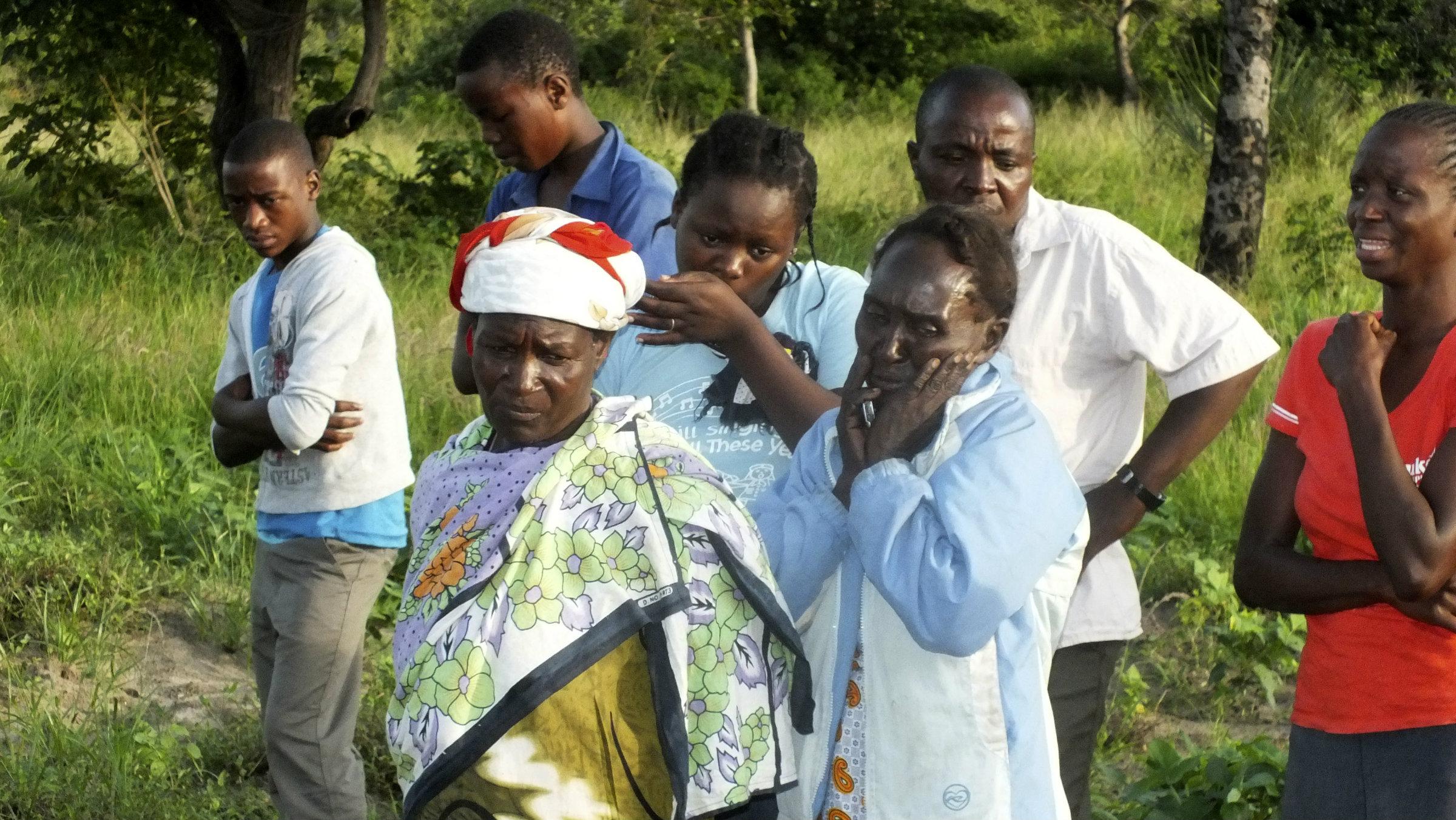In Hindi village, near Kenya's coastal town of Lamu, where some 30 people were killed July 6, 2014, by al-Shabab.