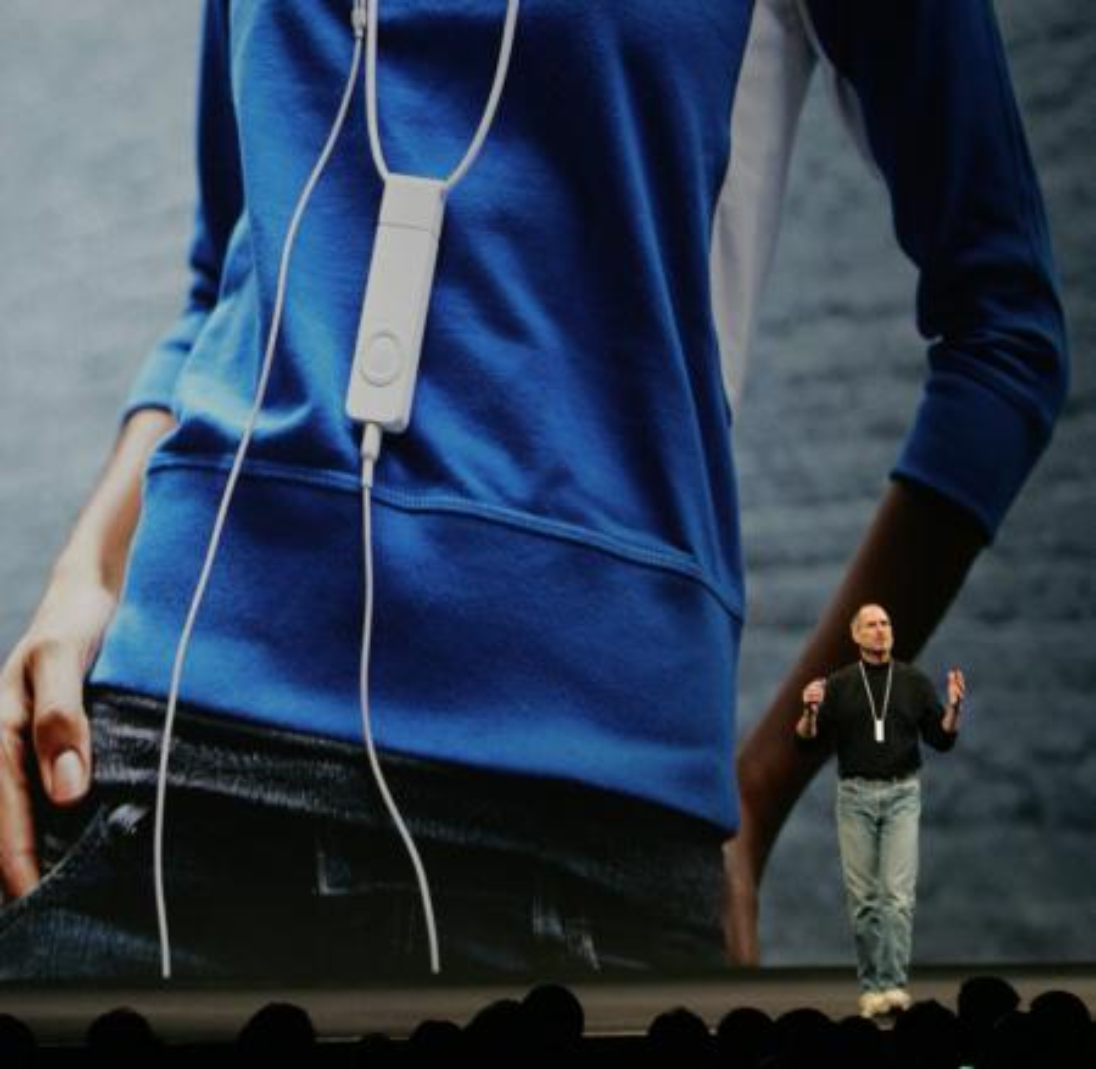 Steve Jobs iPod shuffle keynote