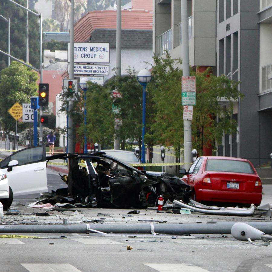 tesla's first accident report claims it's four times safer than the