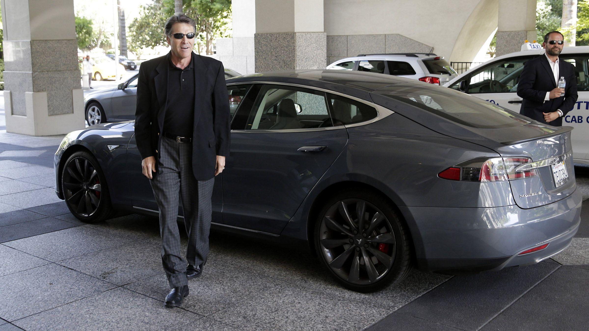 Tesla gigafactory Rick Perry