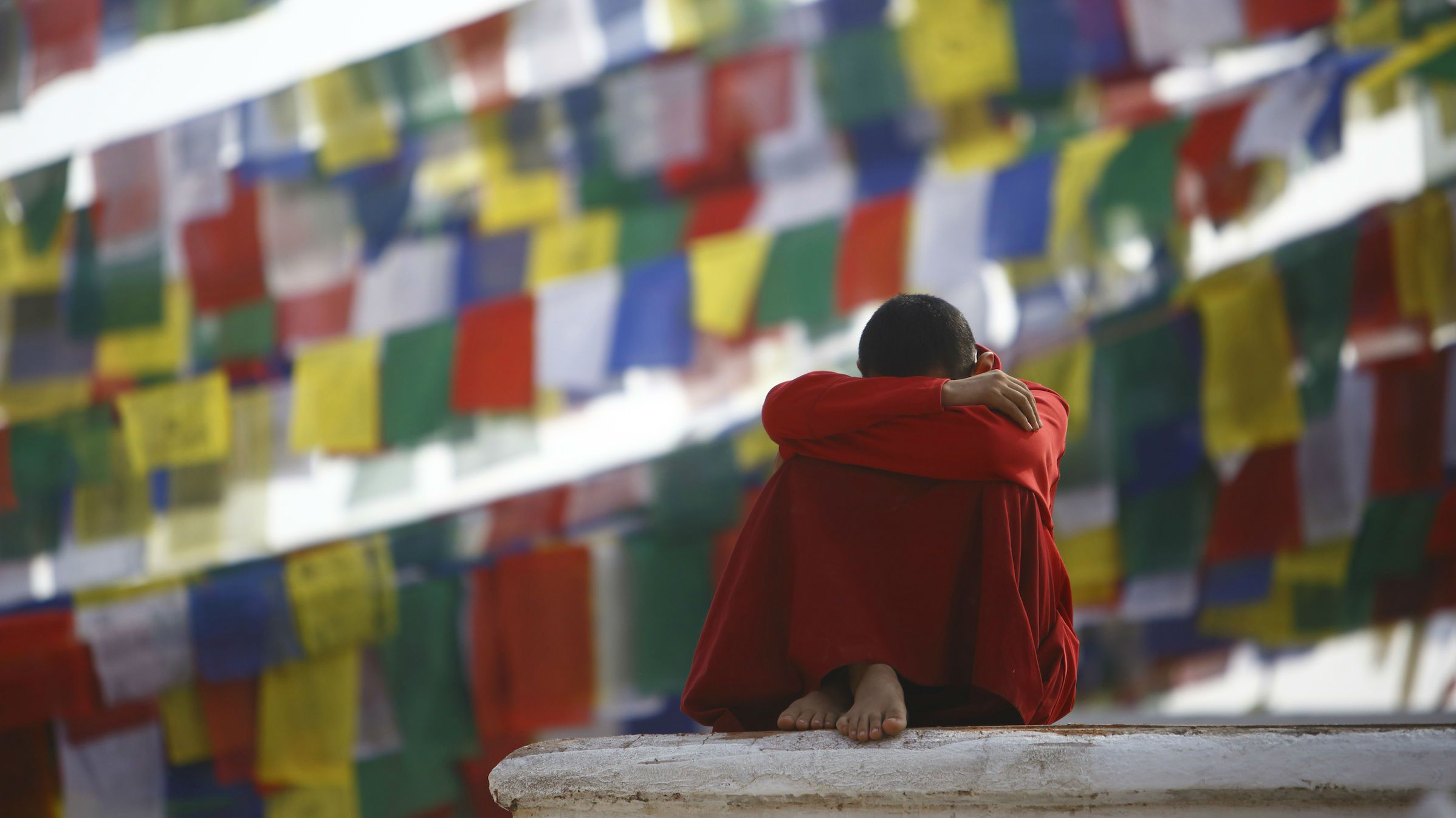 Not everyone thinks life is great in Tibet.