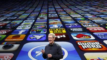 Tim Cook and a world of apps