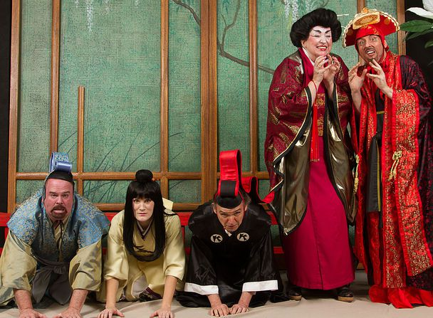 The Seattle Gilbert & Sullivan Society performs The Mikado.