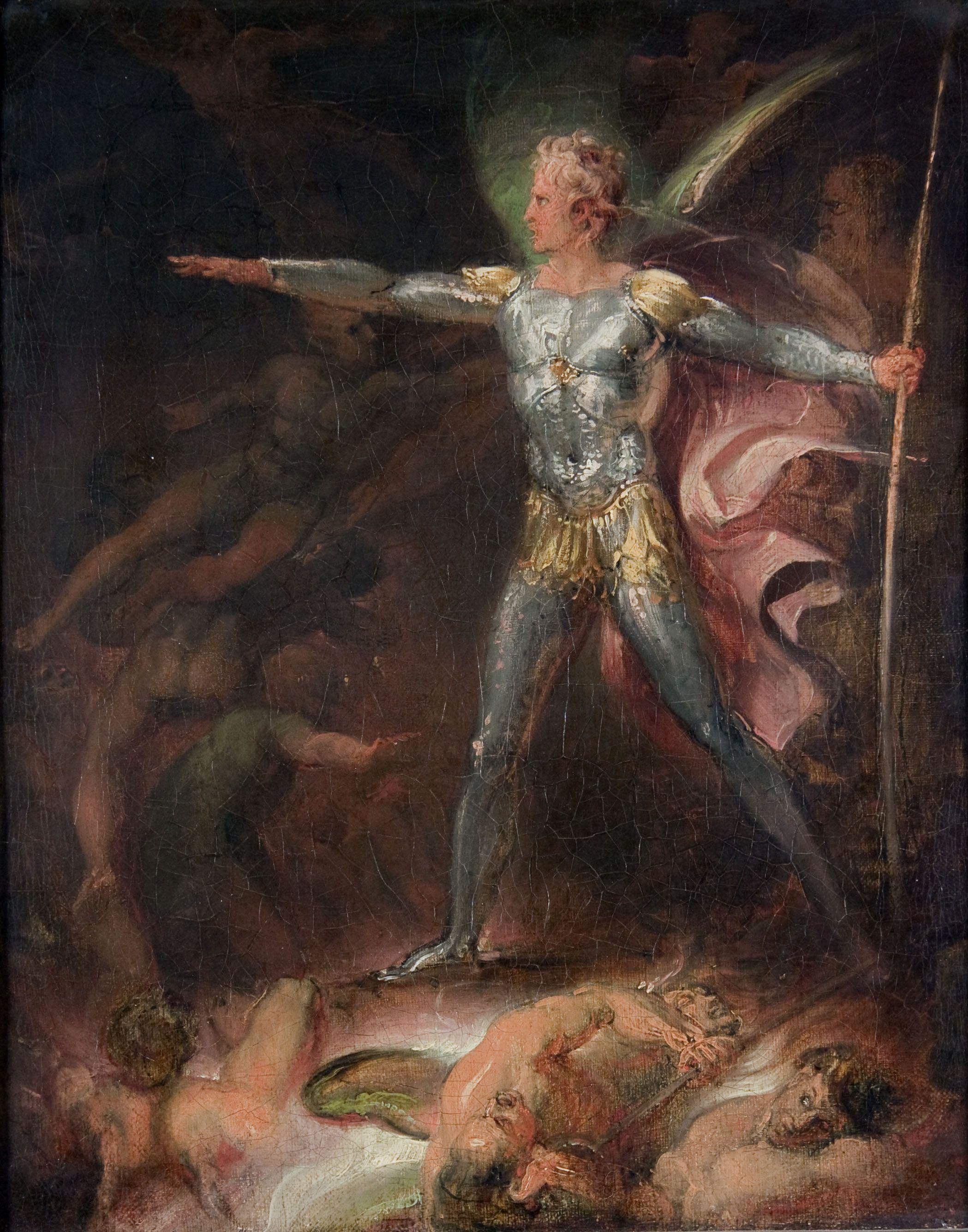 Satan Summoning His Legions by Stothard