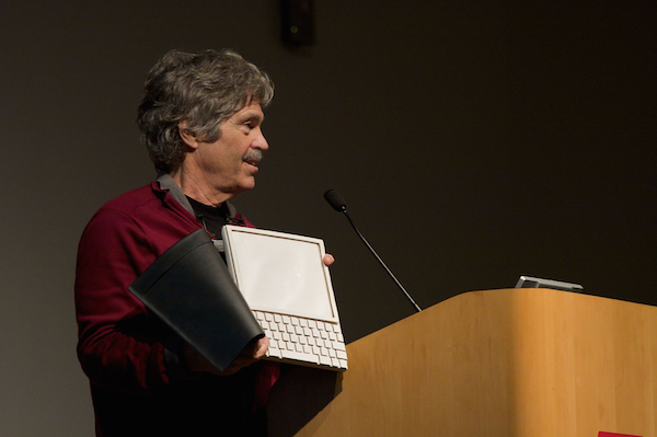 Alan Kay and the prototype Dynabook