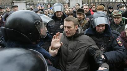 Alexei Navalny knows blogging in Russia can be dangerous.