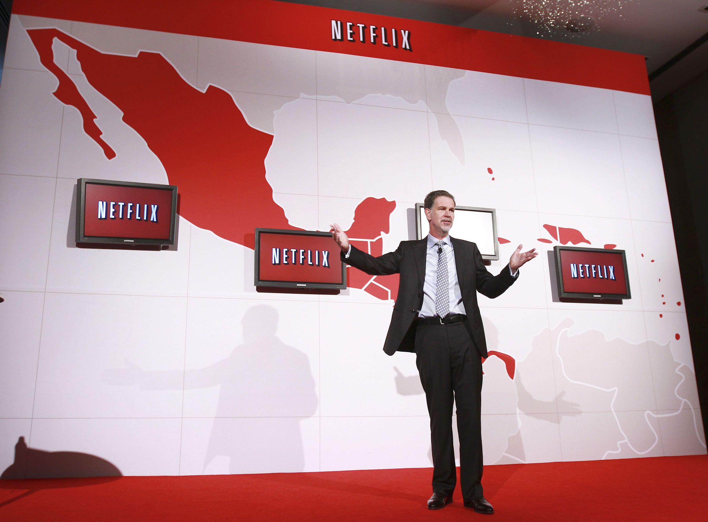 Netflix Reed Hastings Net Neutrality Music
