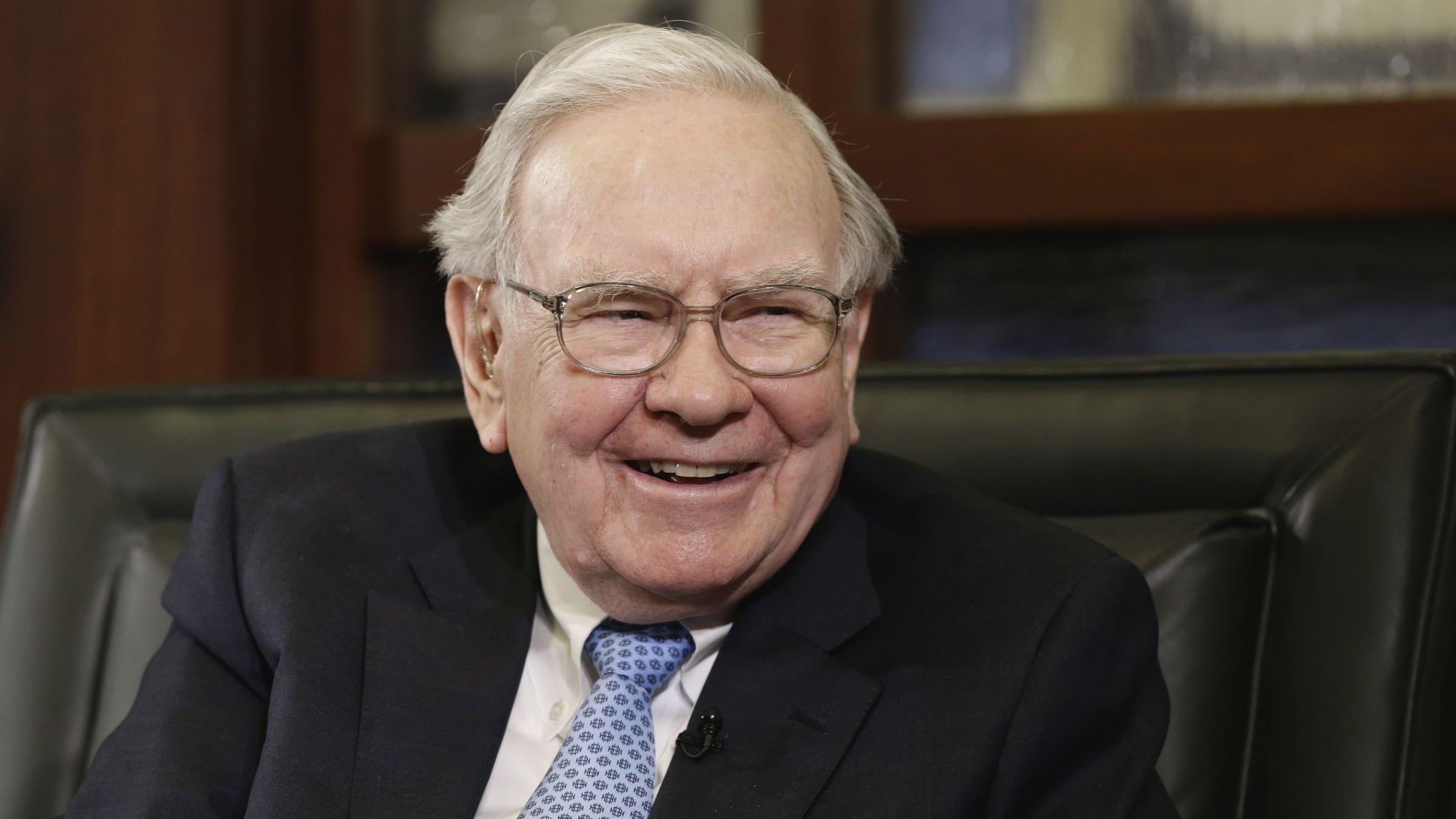 Warren Buffett round face