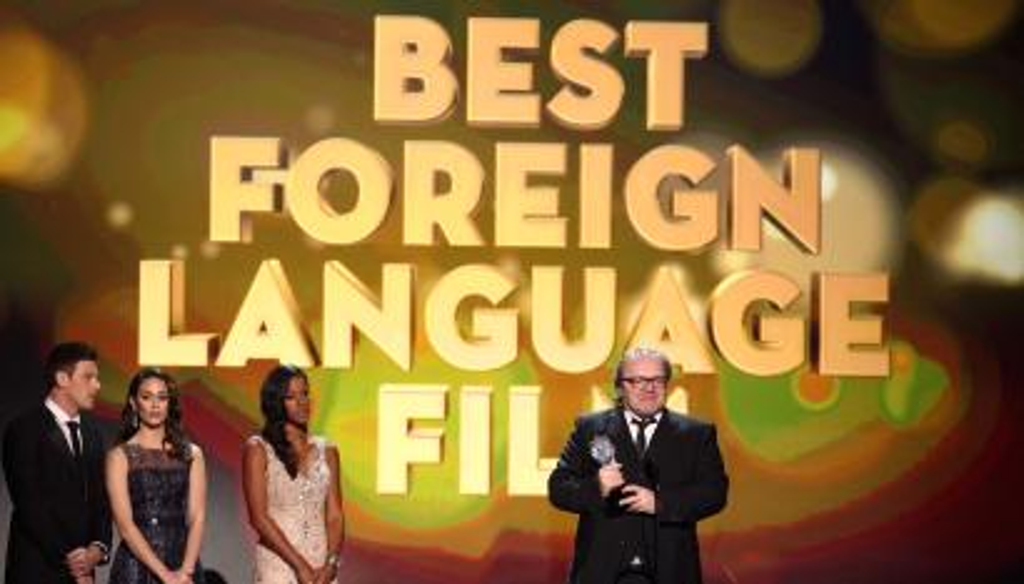 Video dubbing foreign film