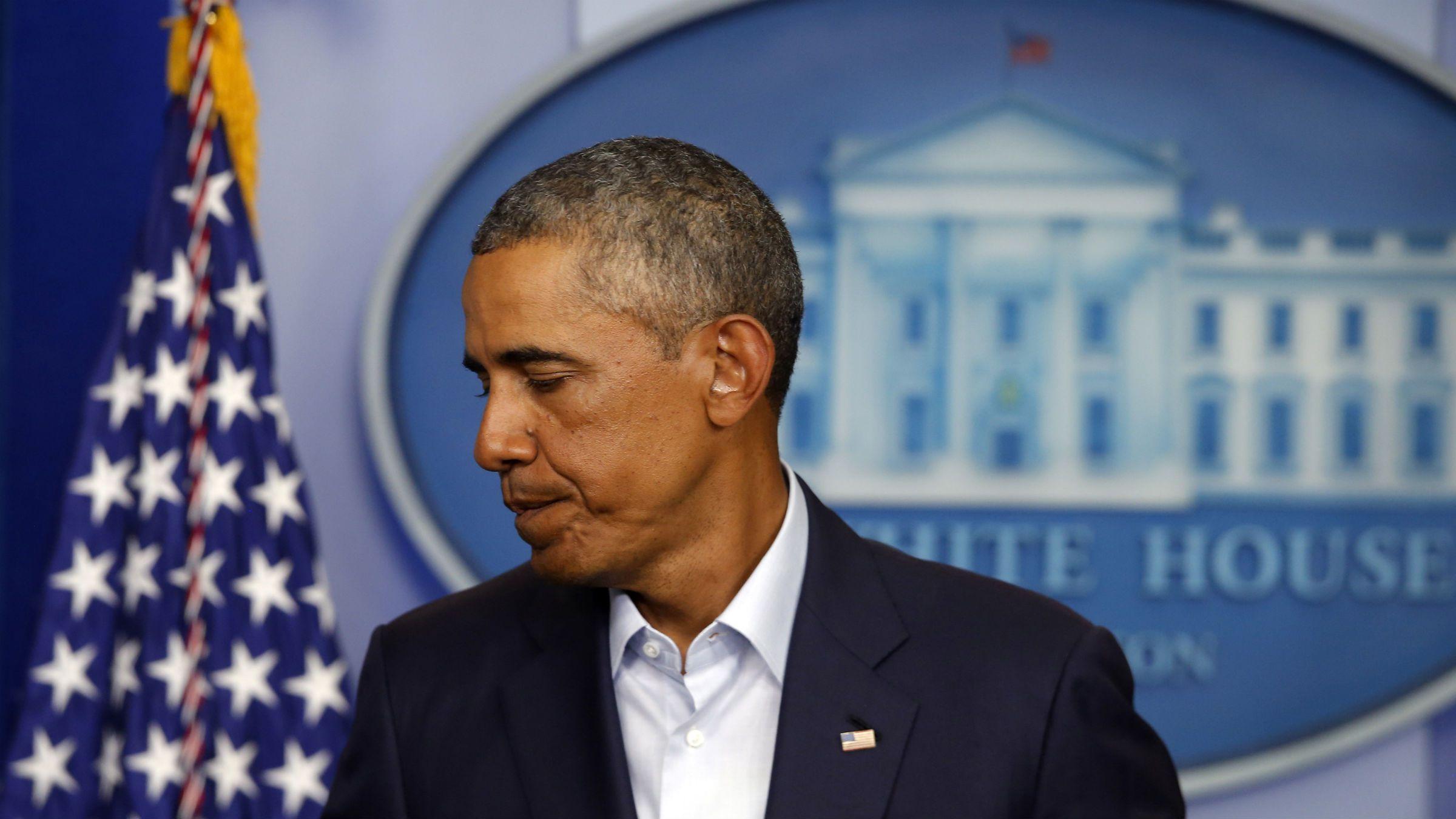 Barack Obama talk about Ferguson