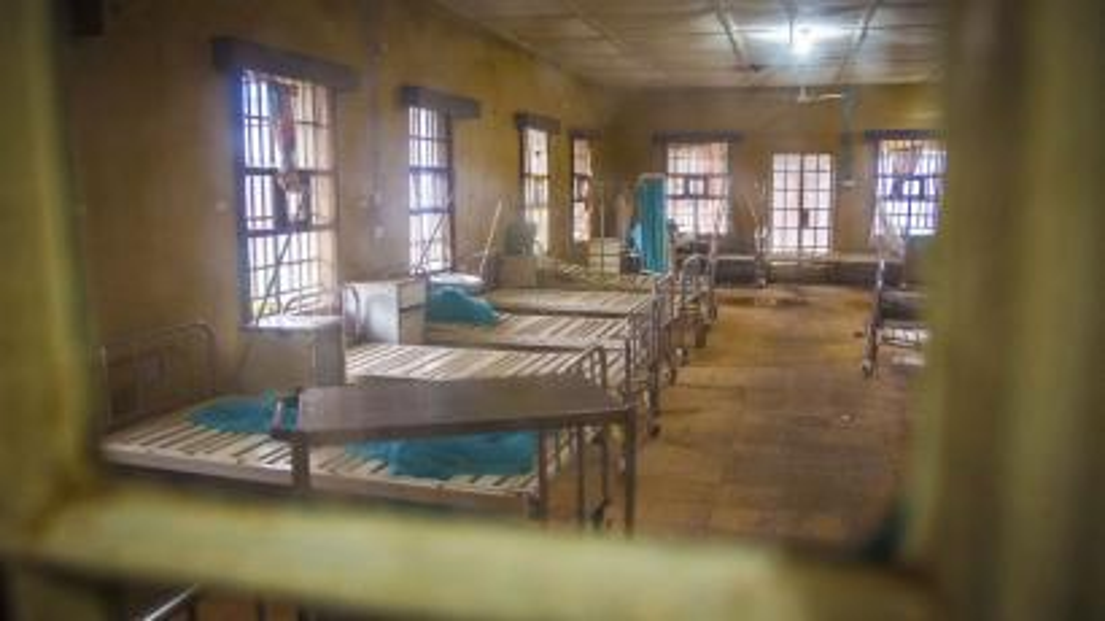 Empty Ebola ward