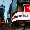 A branch of Bank of America