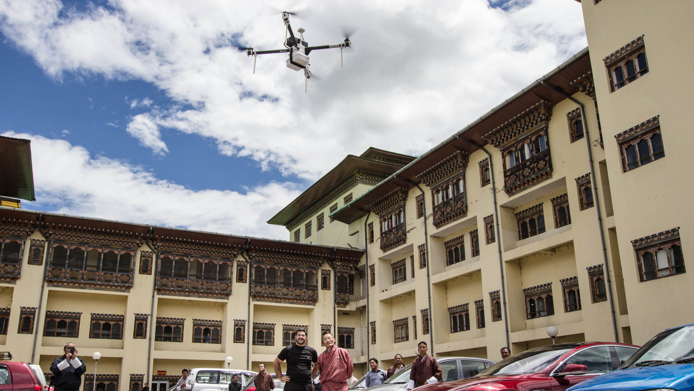 Bhutan drone