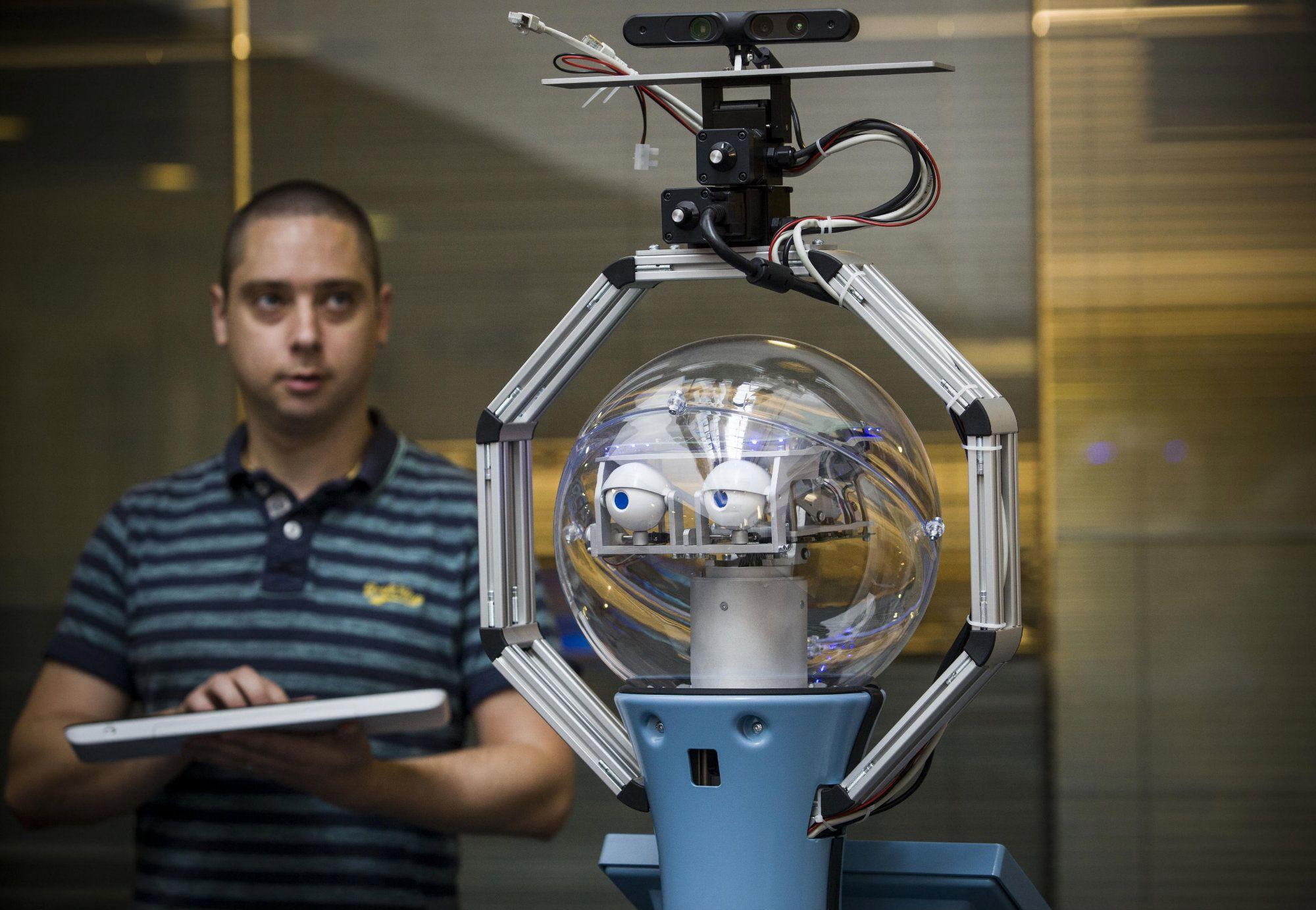 Bob the autonomous robot