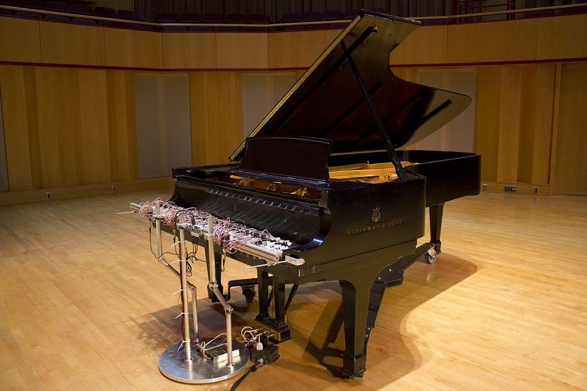 David Bowen's Cloud Piano