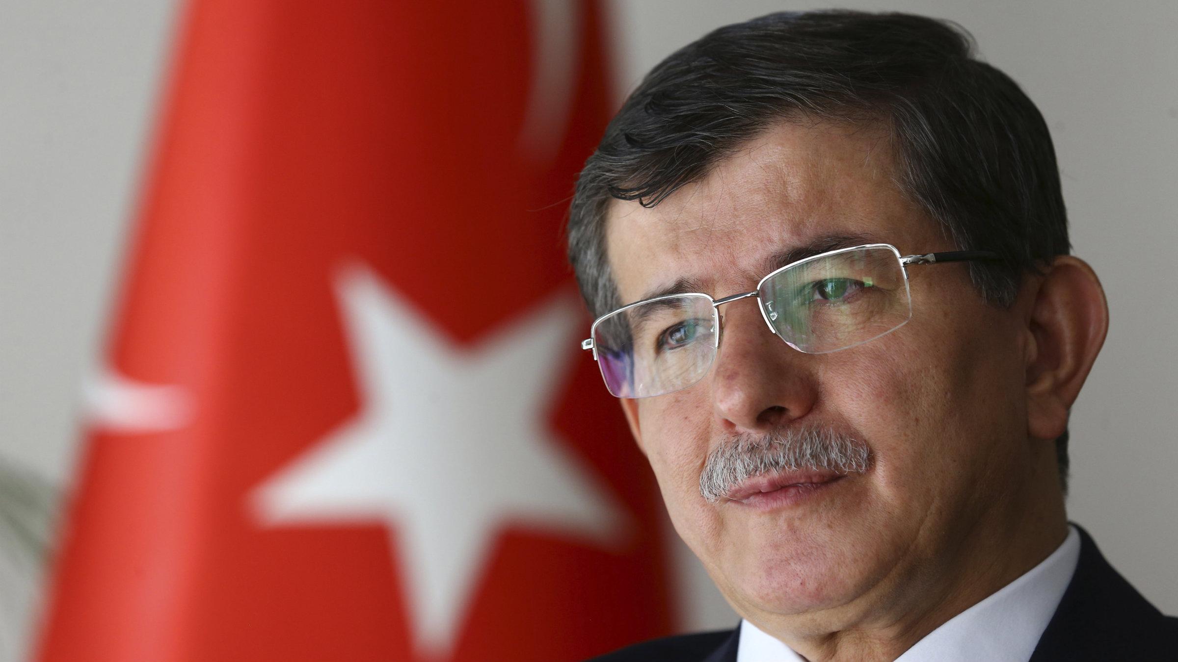 Ahmet Davutoglu, Turkey's prime minister-designate.