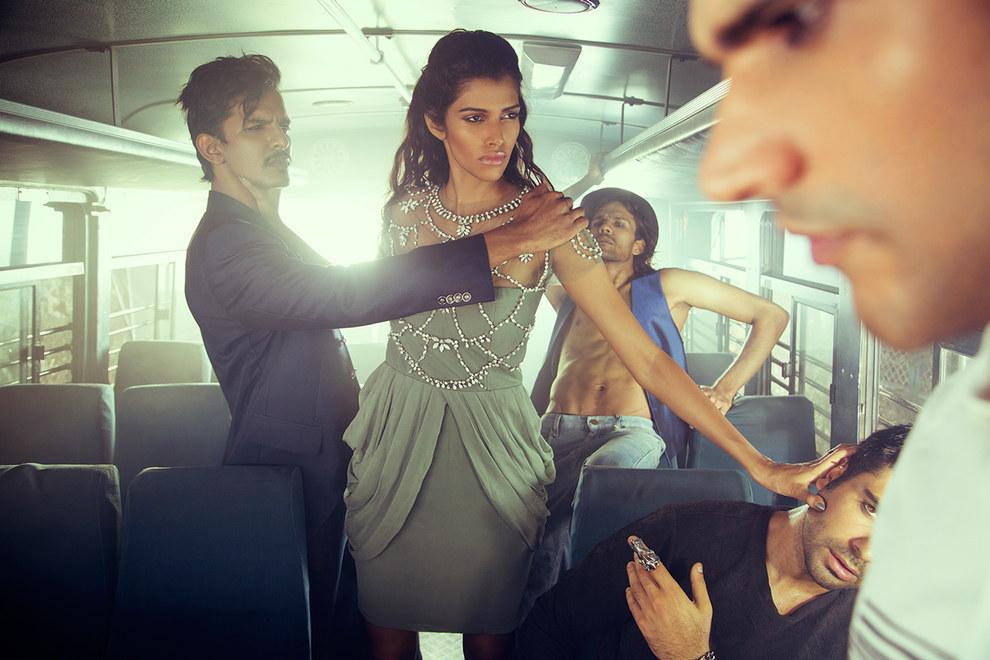 India rape fashion shoot