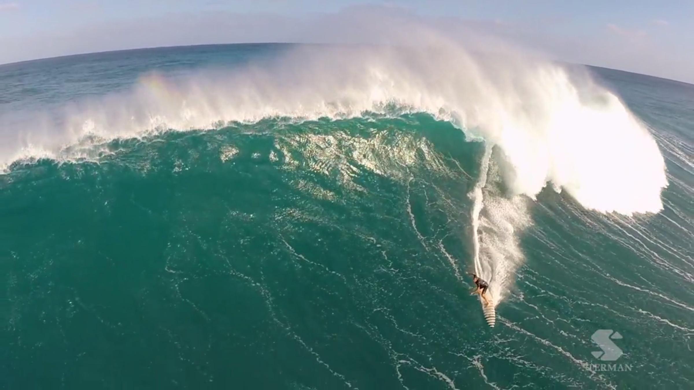 Eric Sterman, big wave surf photographer, drones