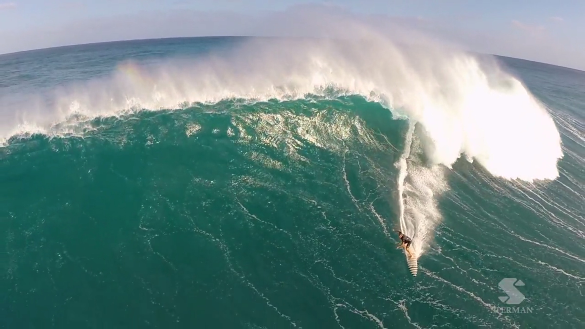 Eric Sterman, big wave surf photographer, drones