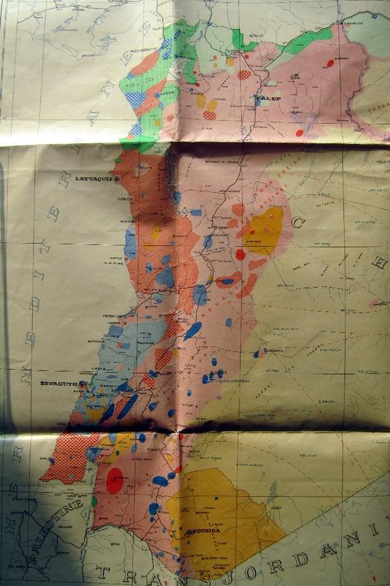 French ethnography of Syria