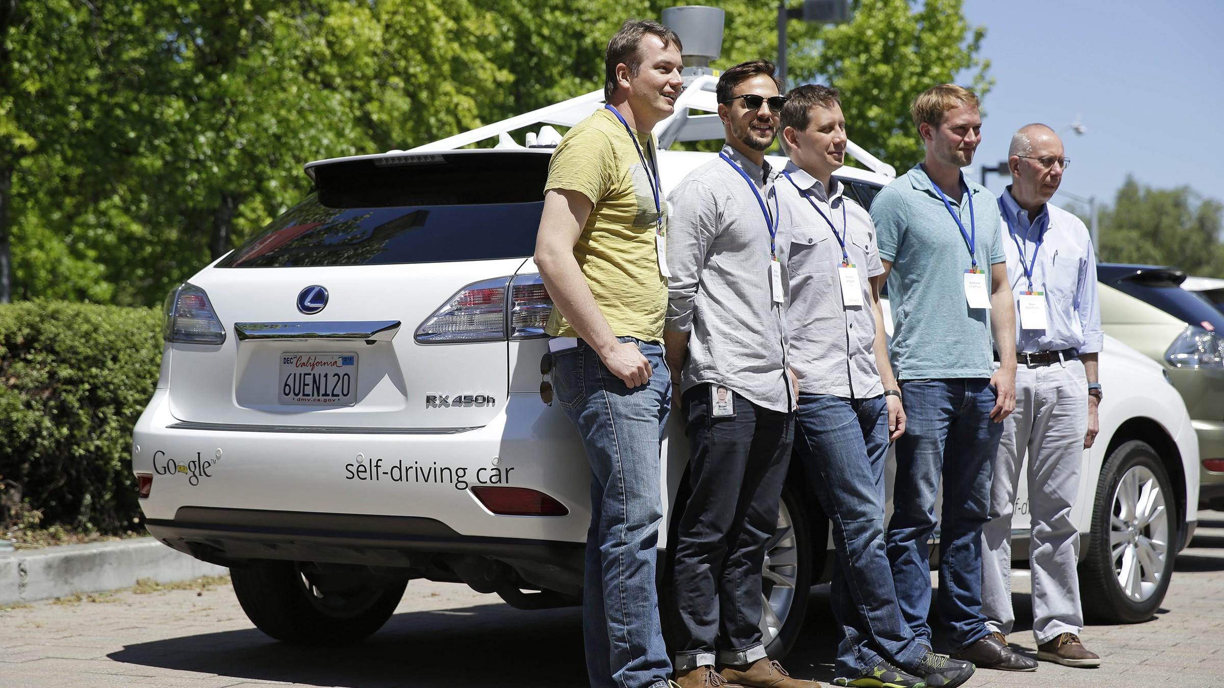 Google self-driving car team