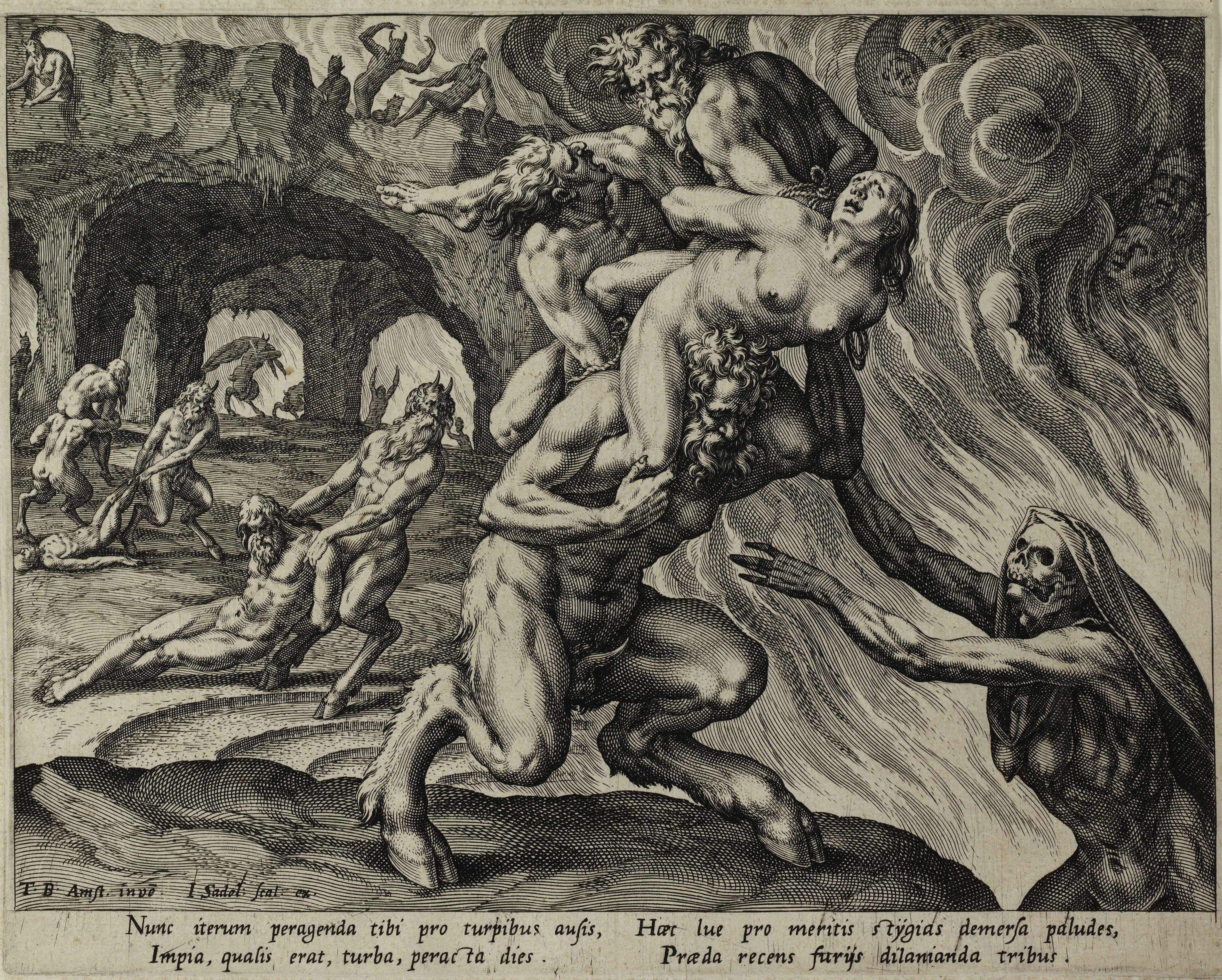 Hell, by Johannes Sadeler