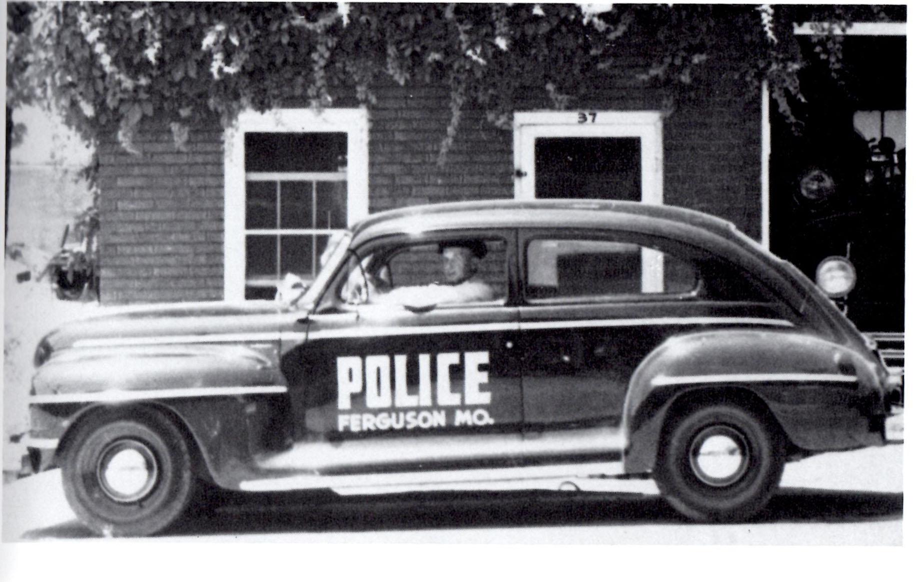 Ferguson police car 1950