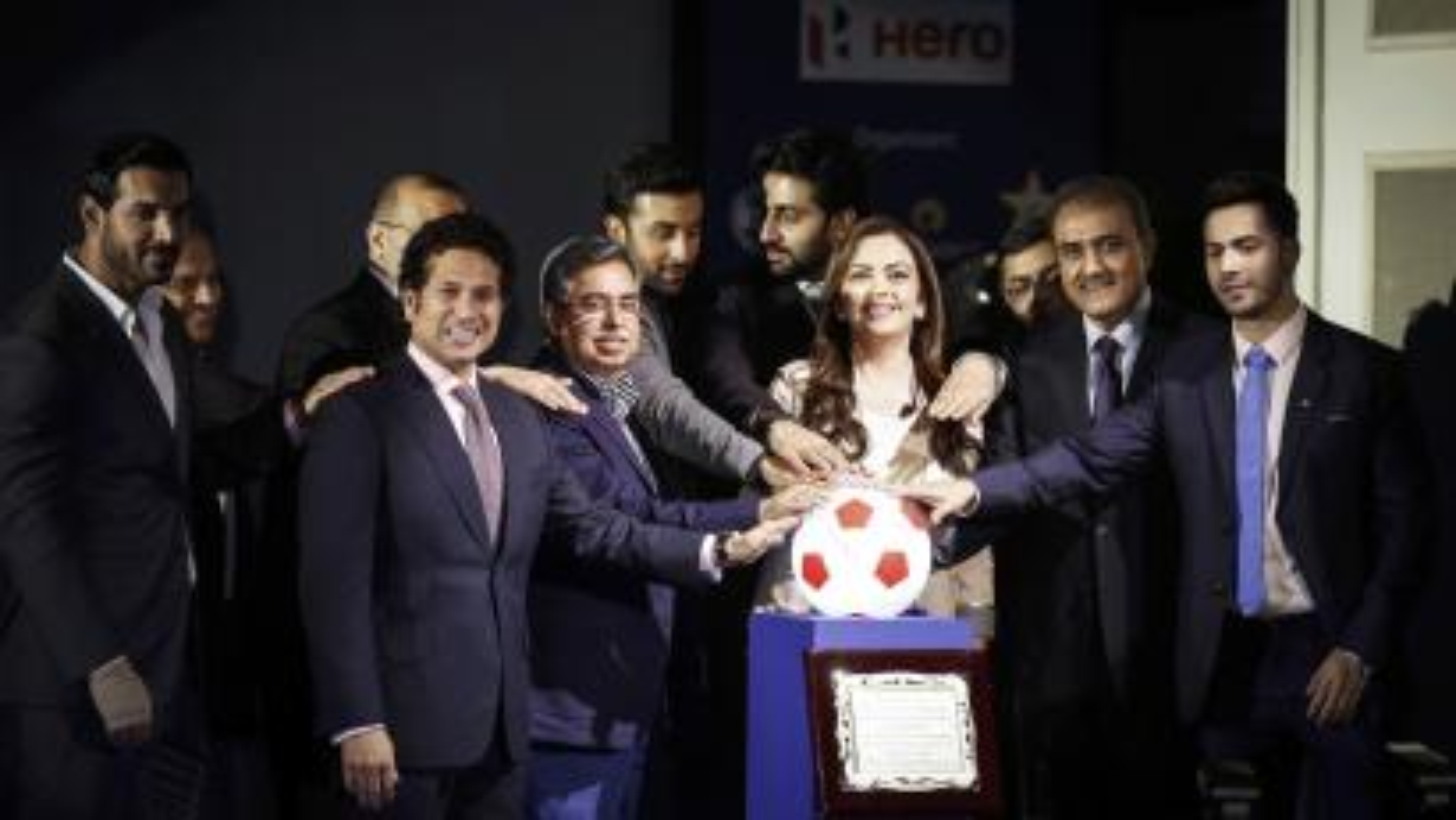 Indian Super League soccer Sachin