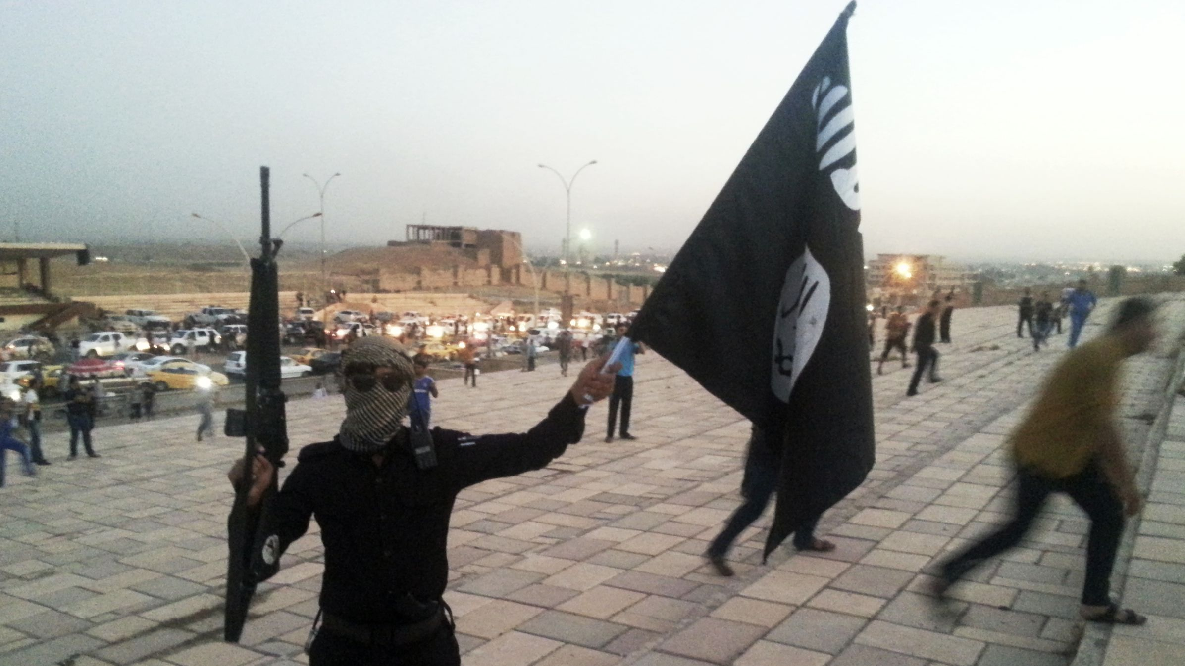 Kickstarterfunded Journalists Found An ISIL Training Camp Using - Isis Training Camps In Us Map