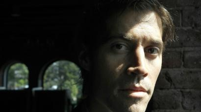 Journalist James Foley, of Rochester, N.H., is seen in Boston, Friday, May 27, 2011. Foley, who was working for the Boston-based GlobalPost while reporting on the conflict in Libya, was captured along with two others by Libyan government forces on April 5, 2011.