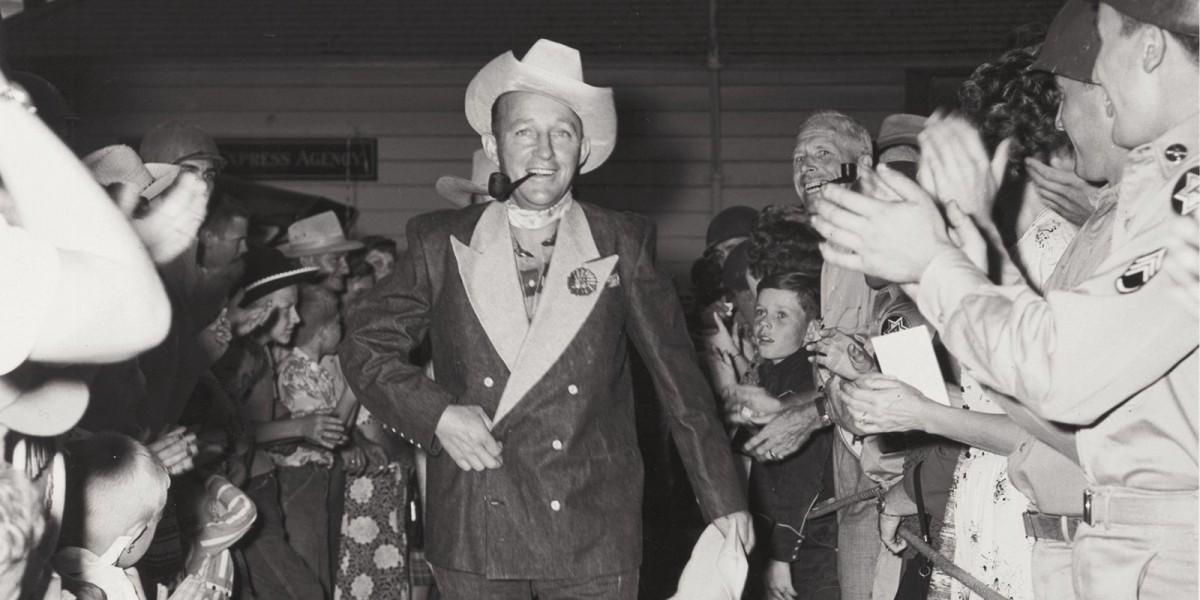 Bing Crosby's denim tuxedo jacket