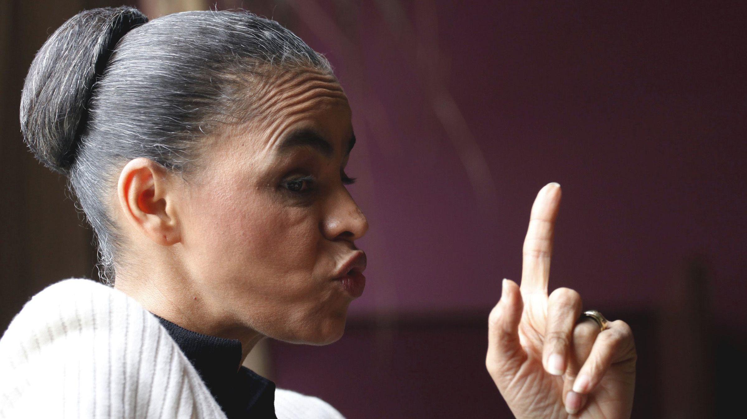 Marina Silva, running for president in Brazil in 2014, has a beauty hack