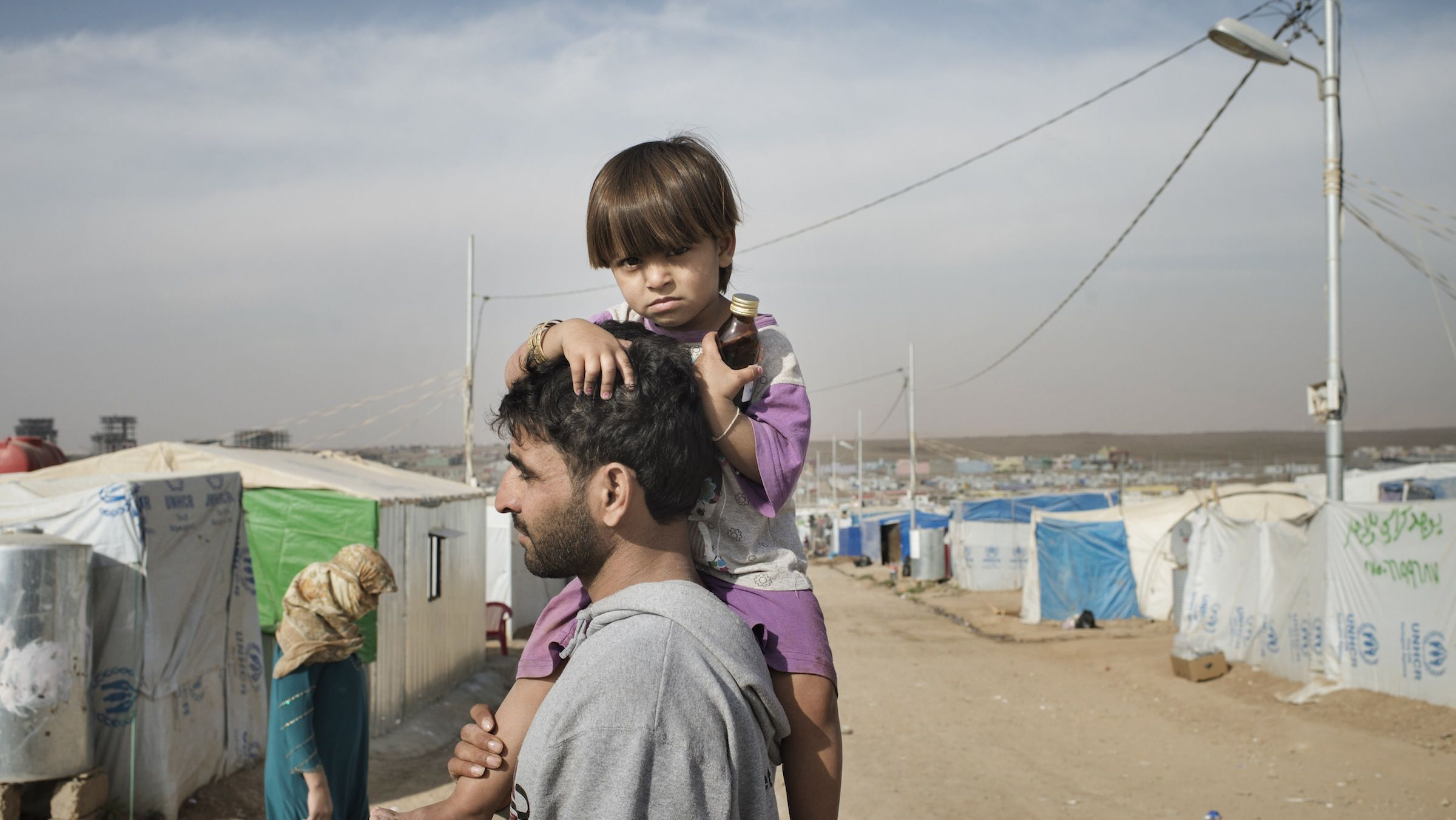 Domiz Refugee Camp was established by local authorities back on in April 2012 to host the Syrian Kurds. The camp located 20 kms southeast of Dohuk city, in Iraqi Kurdistan and some 60 km from Syria/Iraq border.    So far the total number of Syrian refugees in Kurdistan region is 60,151.