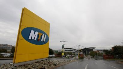 A general view of the headquarters of South Africa's MTN Group