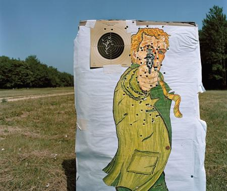 A shooting target used by Austria's military