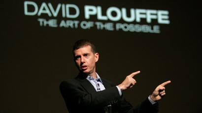 FILE - In this June 25, 2010, file photo David Plouffe, who led Barack Obama's winning campaign for the White House, speaks in Cannes, France, during the Cannes Lions 2009, 56th International Advertising Festival. Plouffe will play a larger role in advising the president in this vital midterm election year; his primary job will be to devise, coordinate and analyze strategies for the 2010 House, Senate and governor's races, according to an Obama administration official.