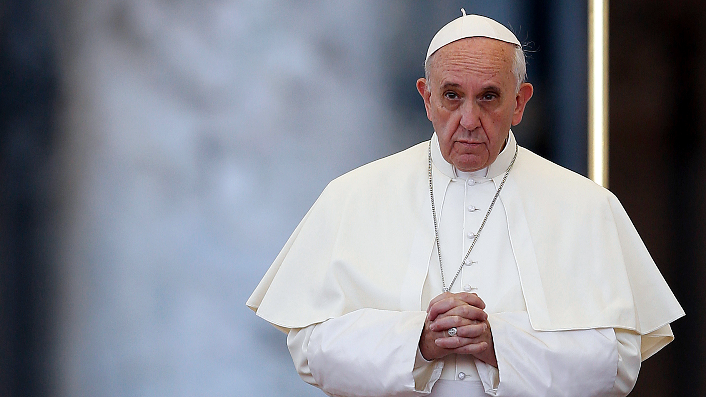 Pope Francis attends a prayer calling for peace in Syria, in Saint Peter's square at the Vatican September 7, 2013. Pope Francis has invited people of all faiths to join a day of fasting and prayer to call for an end to the conflict in Syria on Saturday.