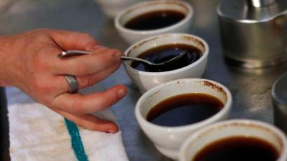 Ground coffee can contain adulterants like corn and soybeans.