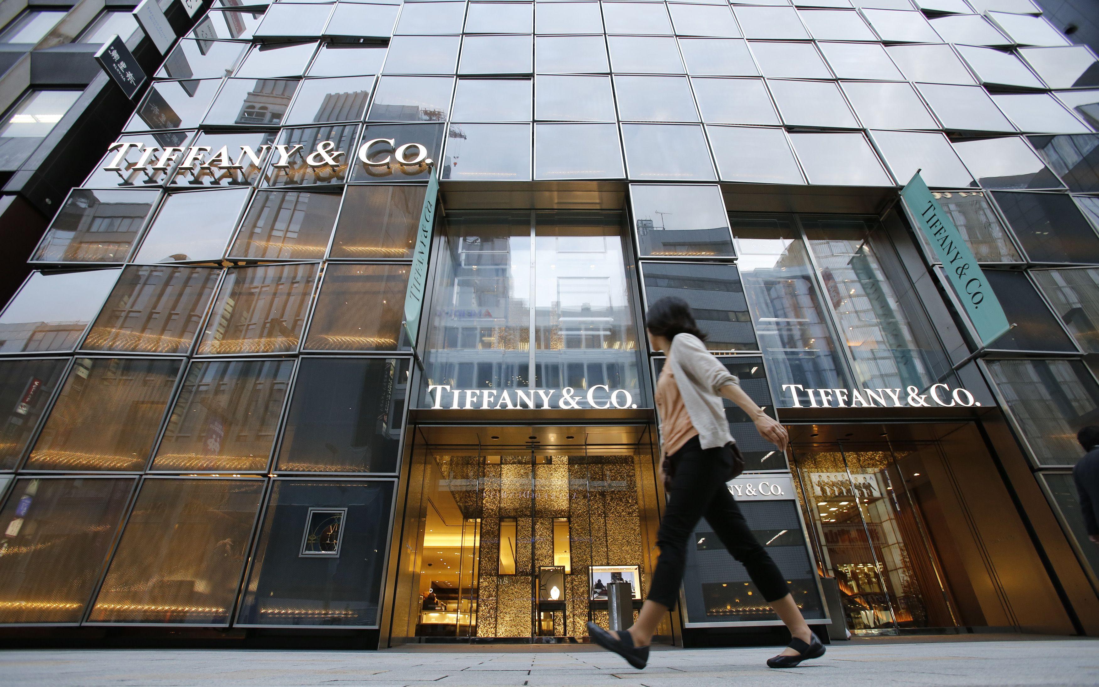 Tiffany store in Tokyo