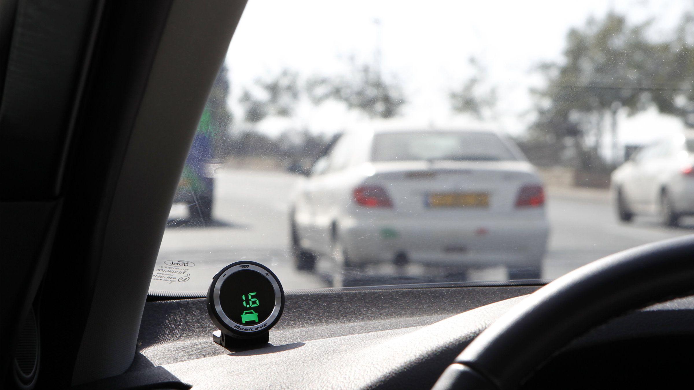Mobileye autonomous cars self driving cars