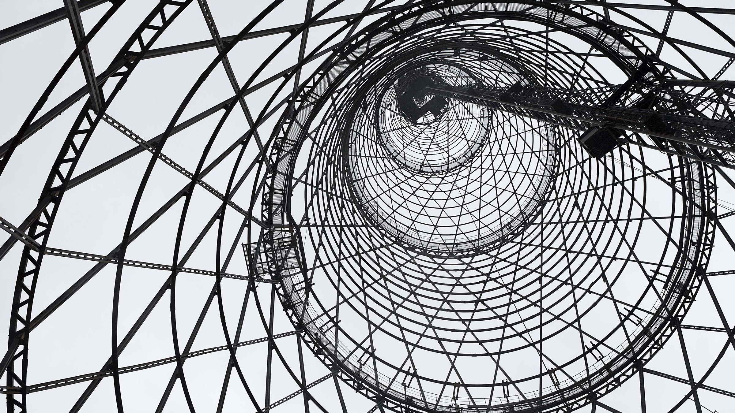 Moscow's 92-year-old Shukhov Tower