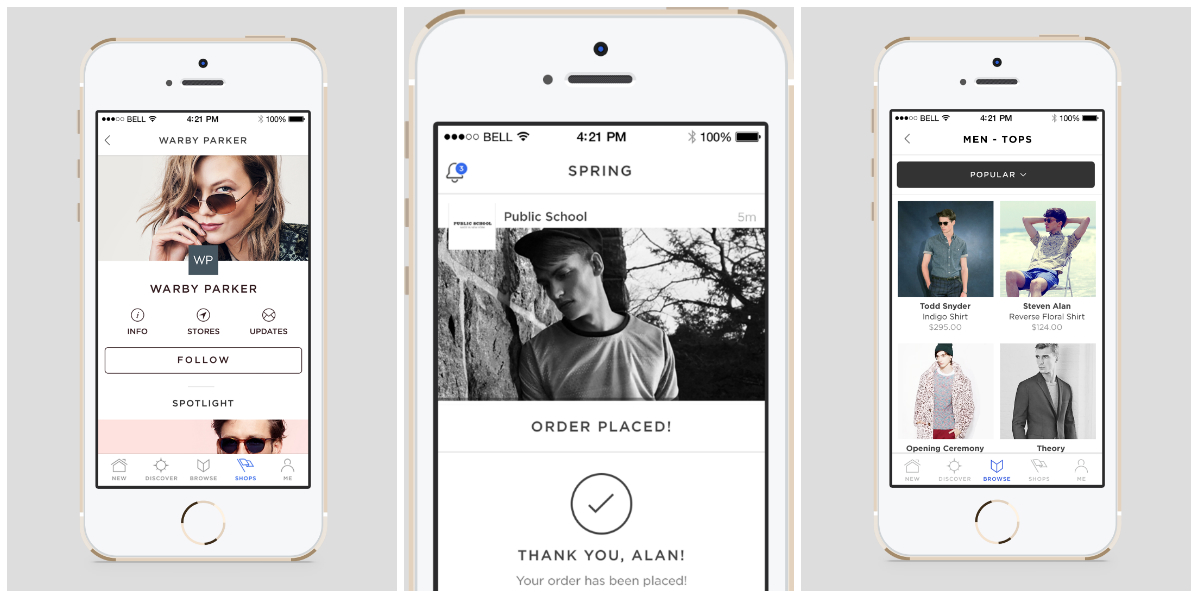 This app for fashion brands is like Instagram with a \u201cbuy