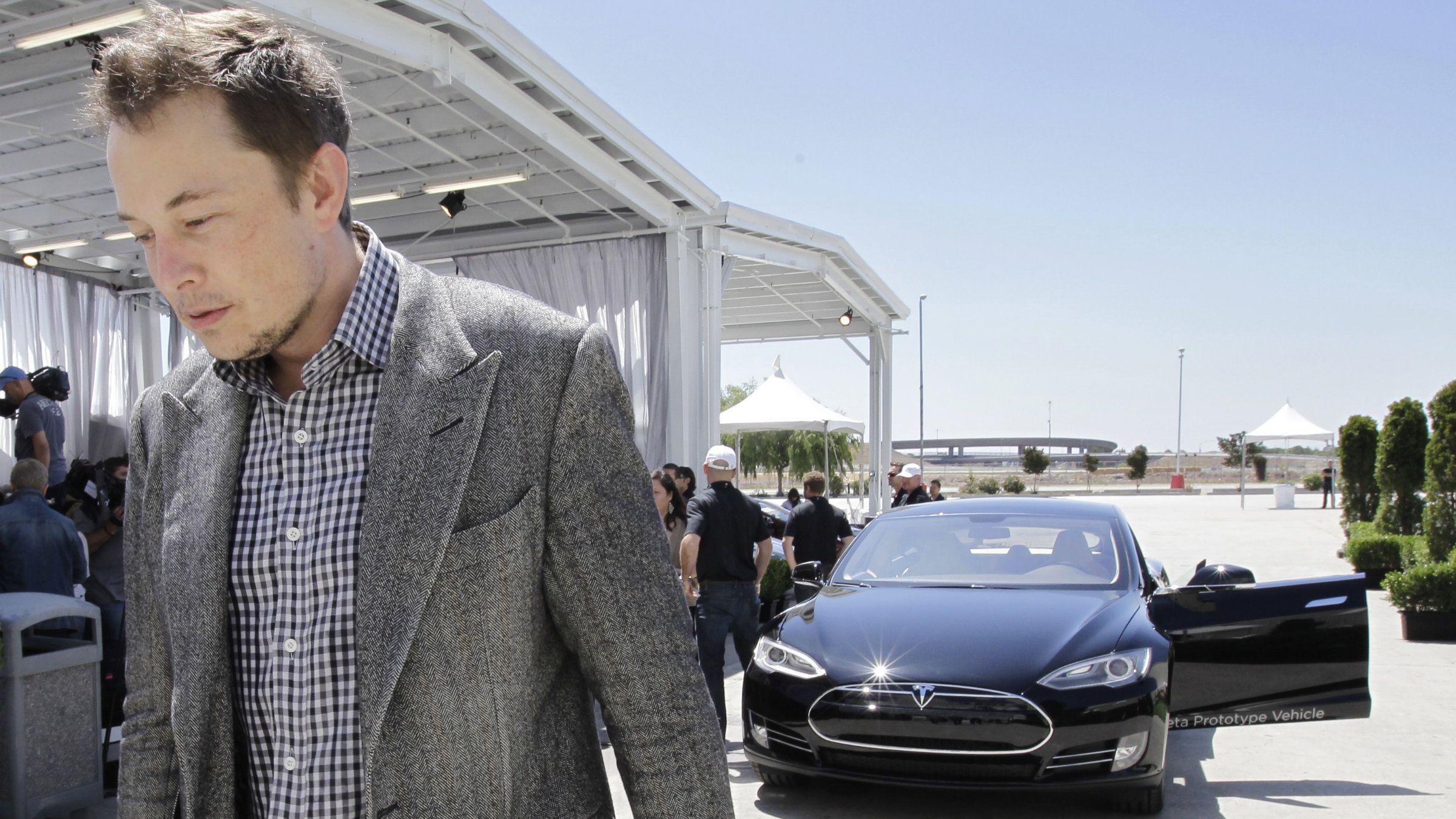 Tesla gigafactory Elon Musk california