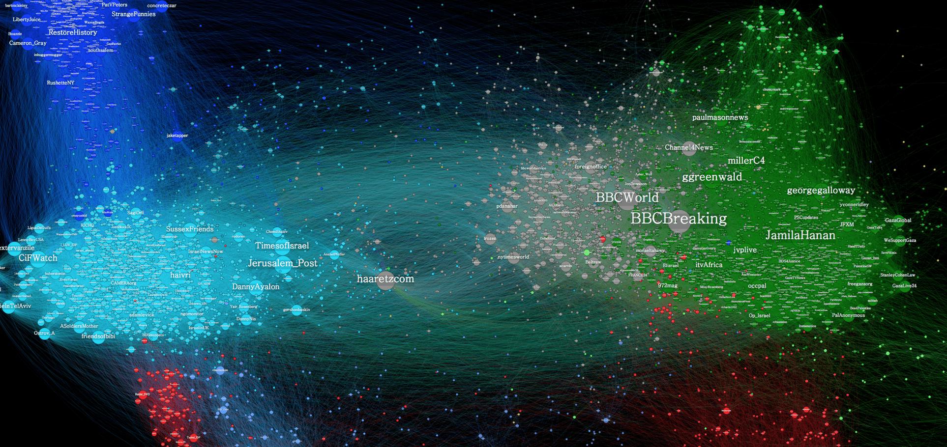 Twitter media Israeli Palestine map