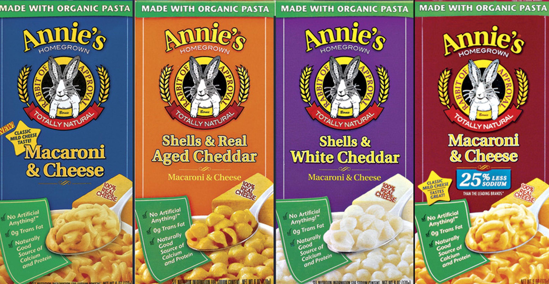 Annie's boxes