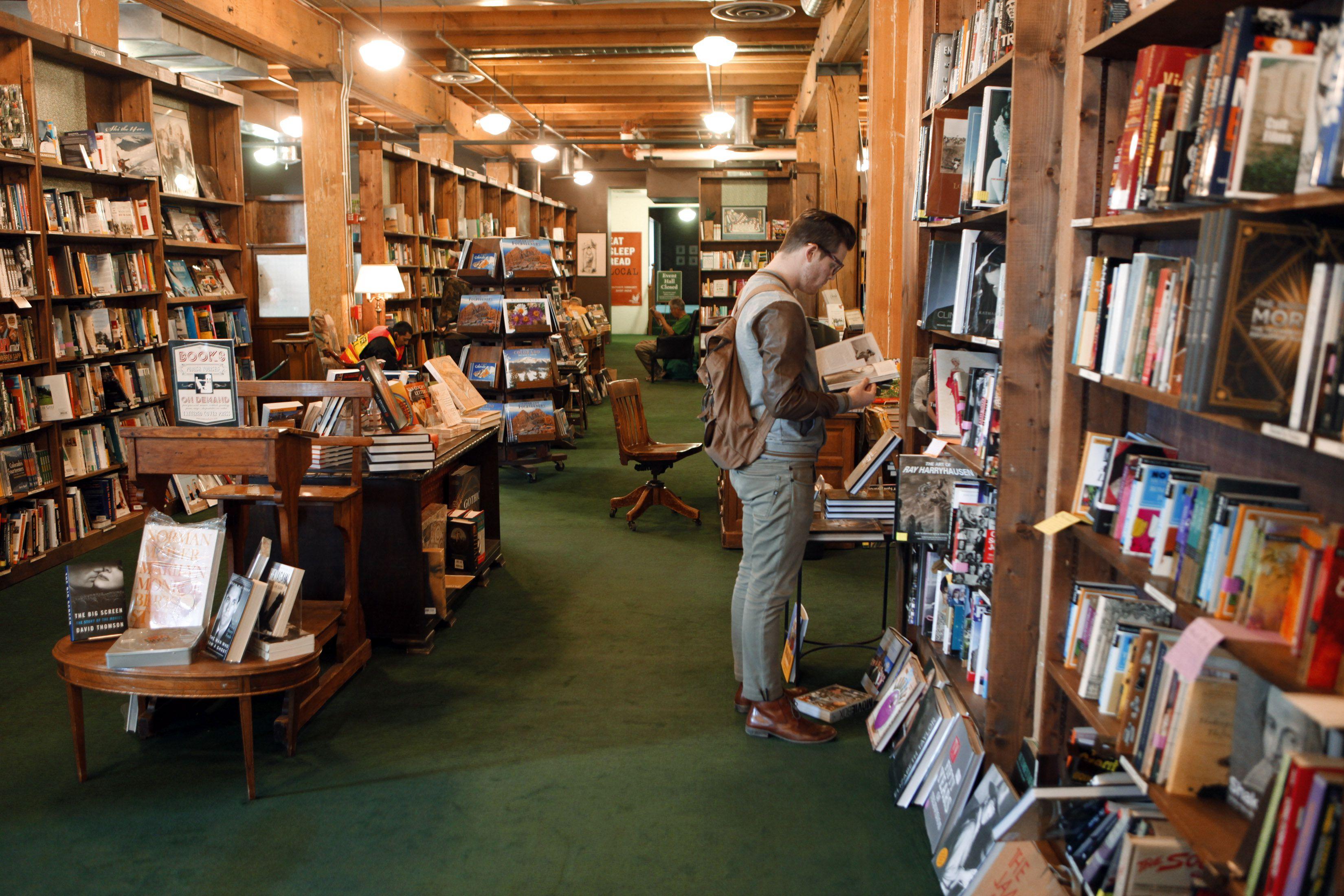 Tattered Cover bookstore Denver Colorado