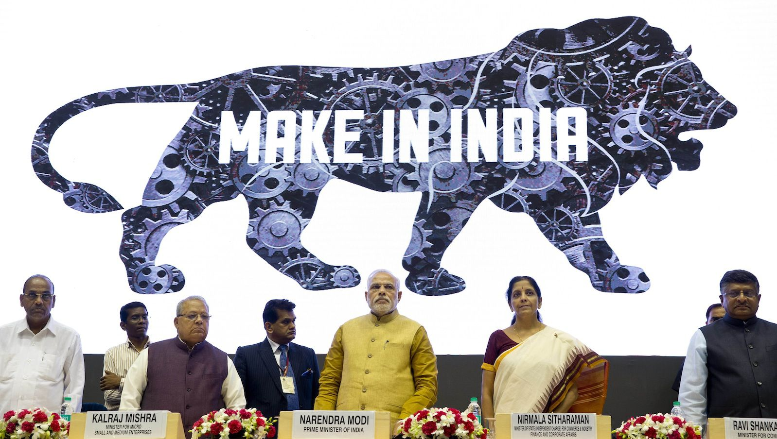 Image result for make in india poster