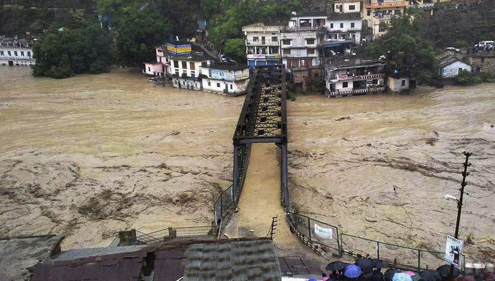 India's water minister says atheists cause floods (crazier ... Uttarakhand Temple Disaster