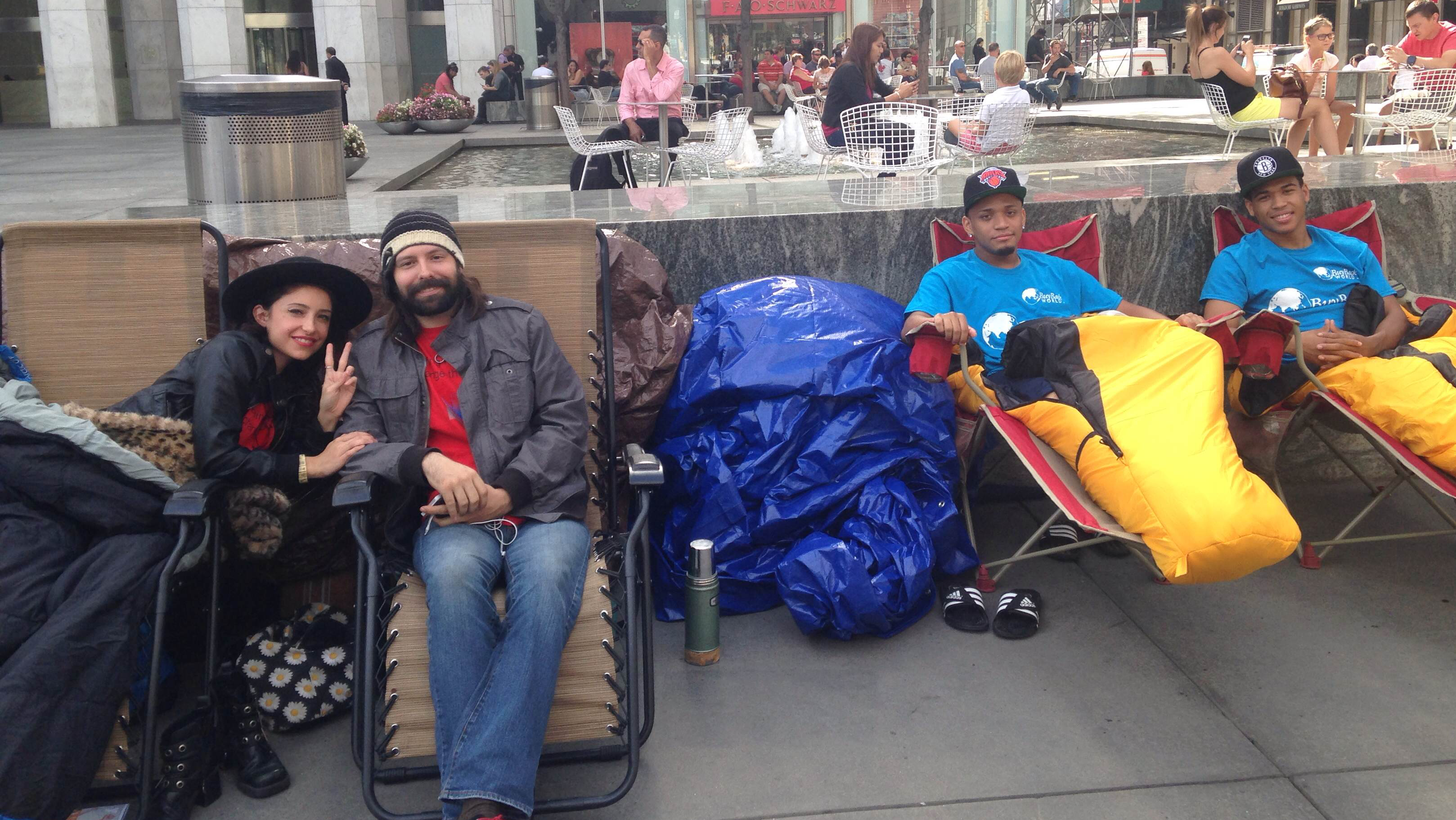 Apple store campers