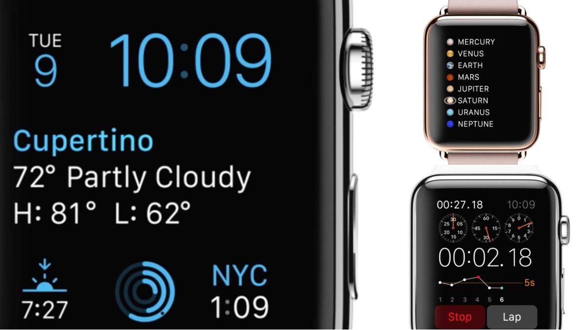 The Apple Watch's new custom typeface